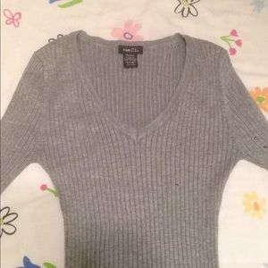 Cute ribbed sweater